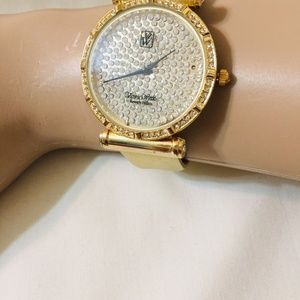 Victoria Wieck Gold Toned Watch